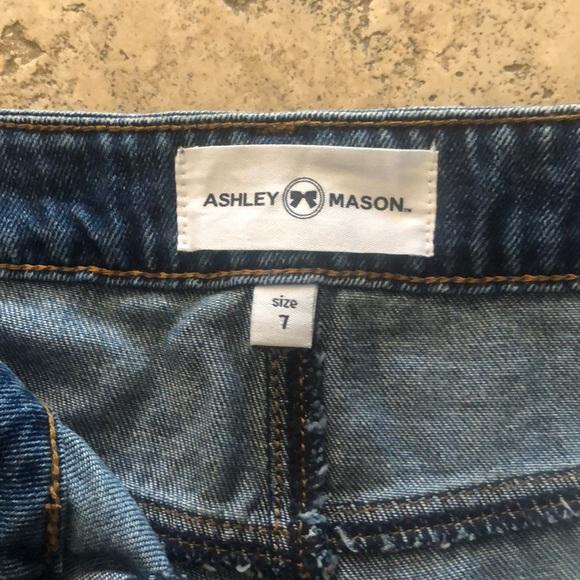 ashley mason angie distressed skinny jean mens